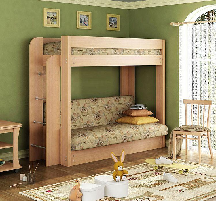 Желательно выбирать мебель спокойных тонов