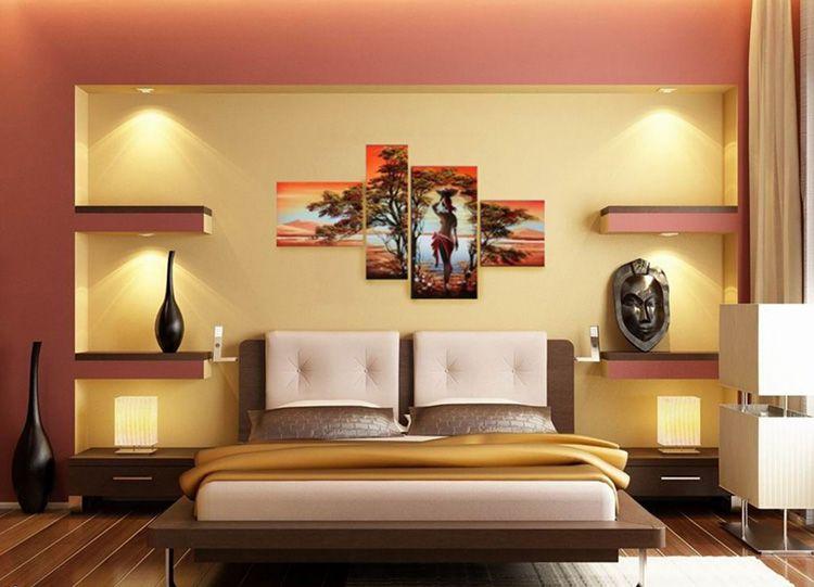 Тематика картины совпадает с тематикой спальни