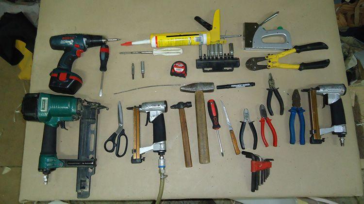 Необходимые инструменты для сборки любой мебели