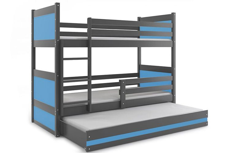 Двухъярусная конструкция с 3 спальными местами