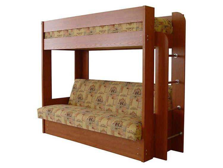 Двухъярусная кровать с диваном «Немо»