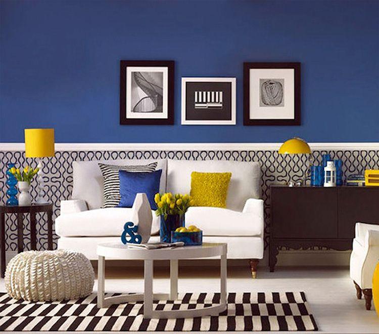 Чёрно-белые изображения на стене хорошо смотрятся в интерьере арт-деко