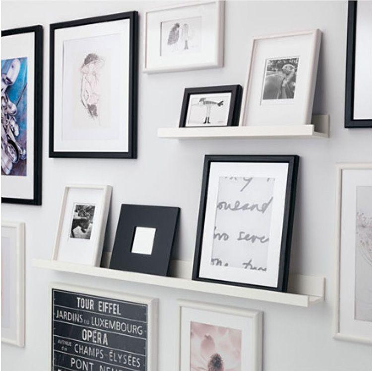 Полочки для размещения картин, фотографий и постеров