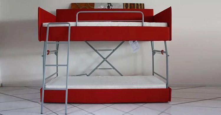 Днём – диван, вечером − двухъярусная кровать