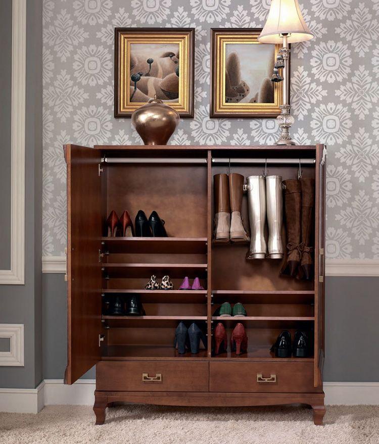 Обувница в классическом стиле