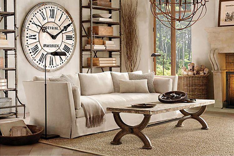 Мебель должна быть простой и из натуральных материалов