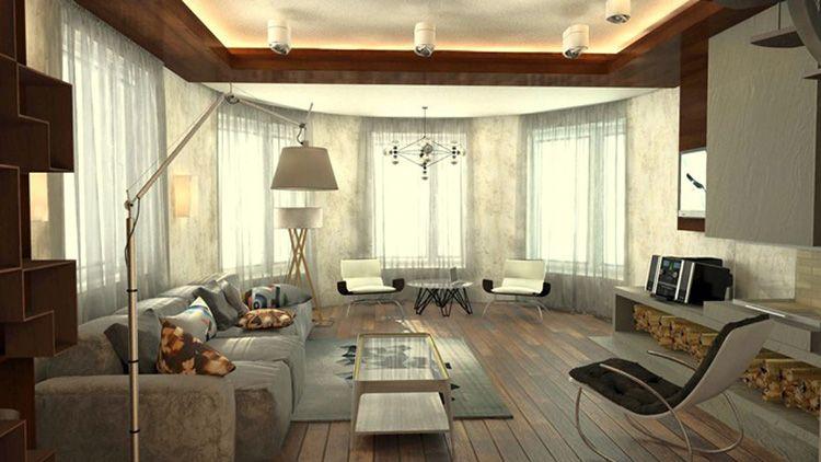 Фото интерьера гостиной в скандинавском стиле
