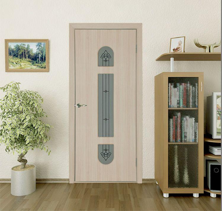 Межкомнатные двери «белый дуб»