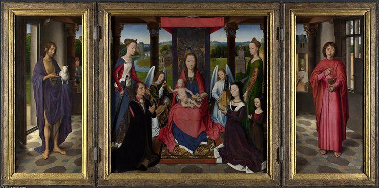 Триптихи были известны ещё со средневековья, если не раньше