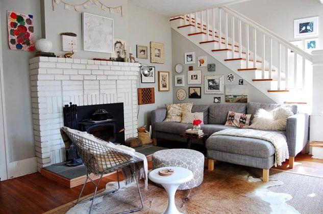 Сложно представить скандинавский дом без камина