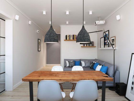 Фото дома в скандинавском стиле: вариант устройства освещения