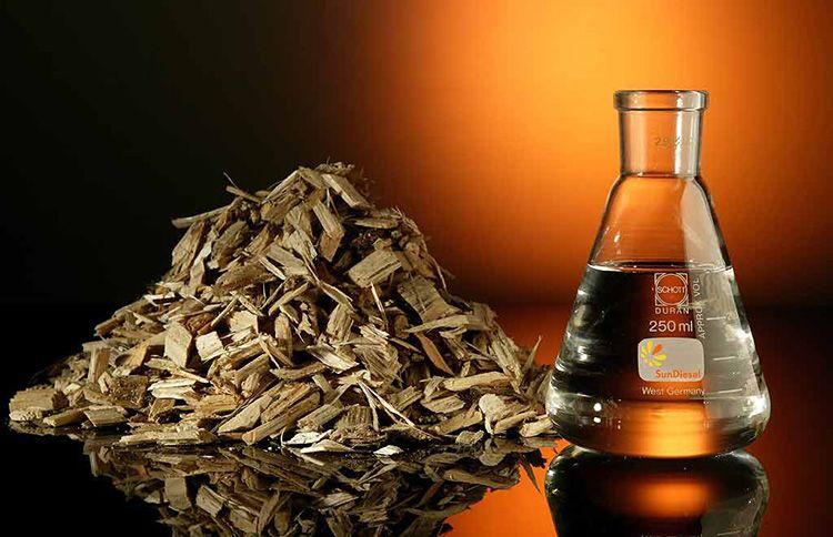Отходы деревоперерабатывающей промышленности можно использовать для производства биотоплива
