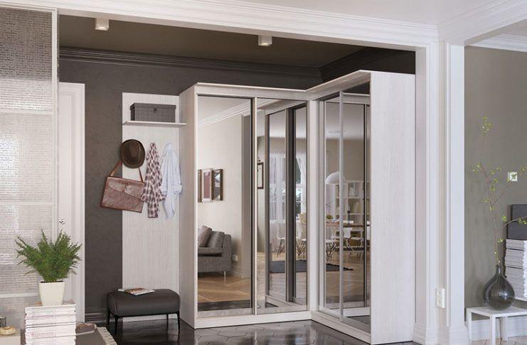 Рациональное использование свободного пространства, или Как выбрать угловой шкаф в спальню