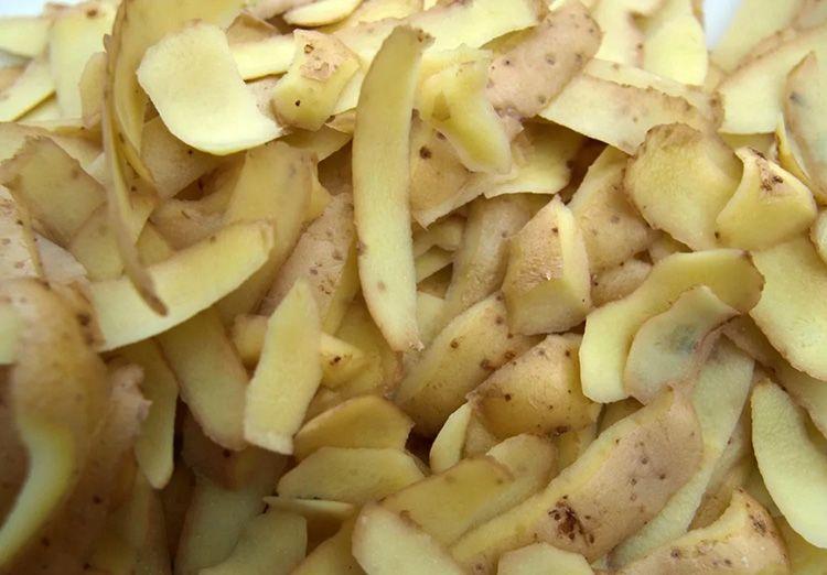 Если у вас завалялись очистки от картошки, яблок или груш, то вам подойдёт ещё один «дедовский способ» для очистки чайника от солевого налёта. Этот метод хорошо работает на эмалированных и металлических чайниках.