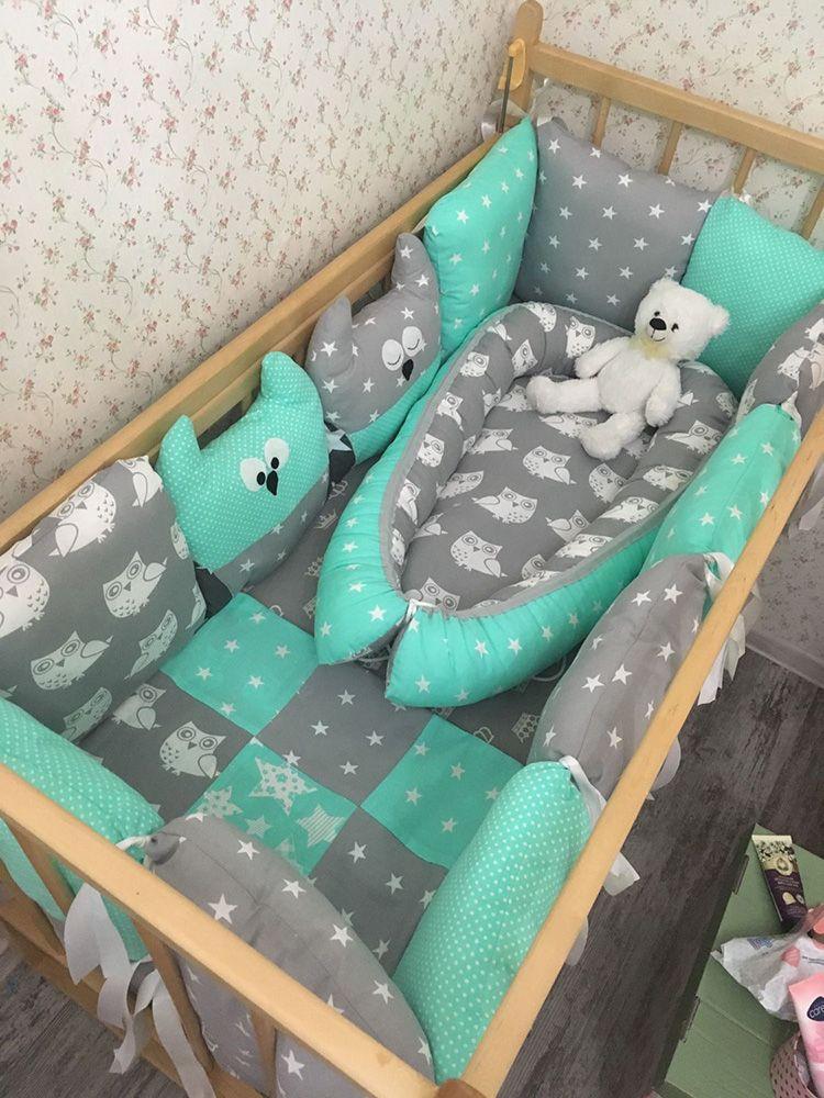 Стильная кроватка для мальчика, которая подойдёт к дизайну спальни родителей