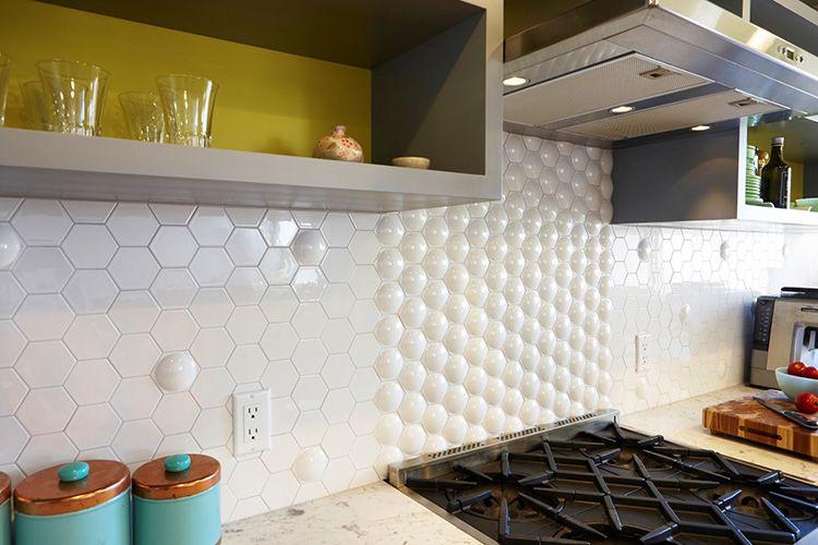 Фото керамической плитки для фартука на кухне