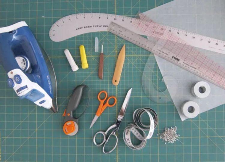 Инструменты, необходимые для шитья и раскроя
