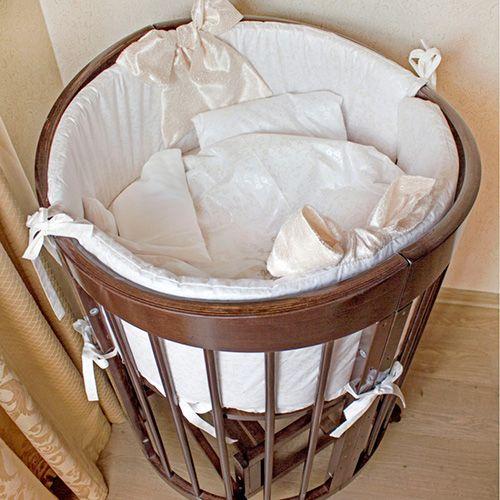 Комплект на круглую кроватку