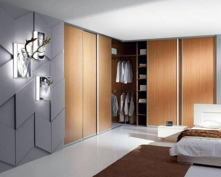 Раздвижная система открывания уместна в современных интерьерах