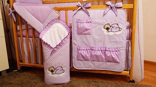 Бортики в кроватку для новорождённых: фото необычных вариантов оформления детских спальных мест