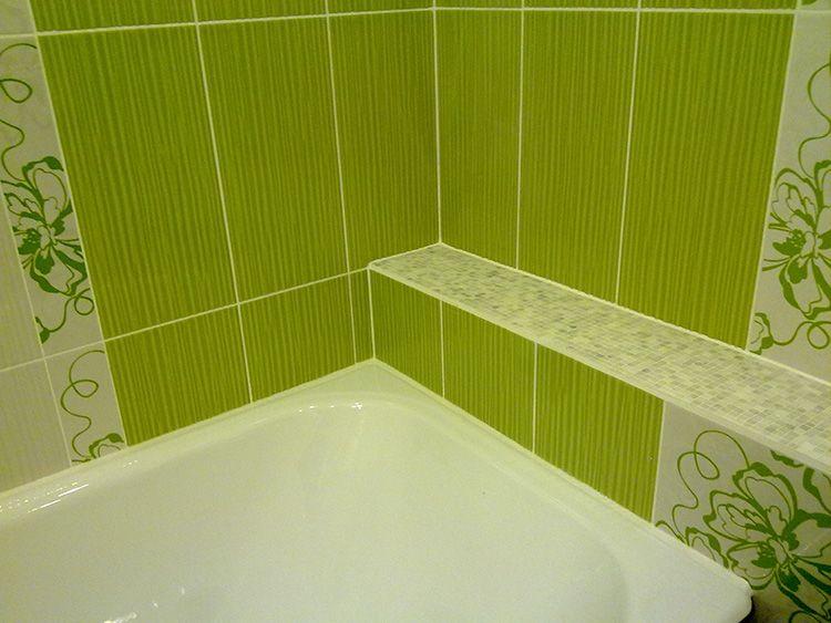 Плитка – оптимальное решение для ванной комнаты