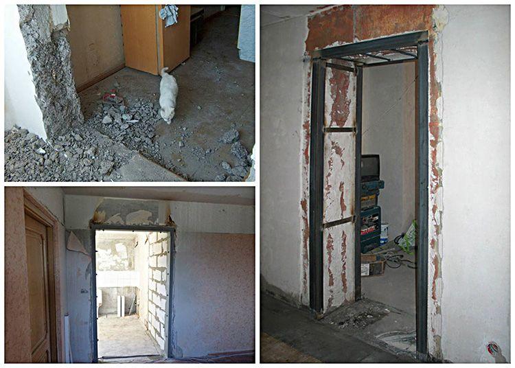 Демонтаж межкомнатной двери требует аккуратности