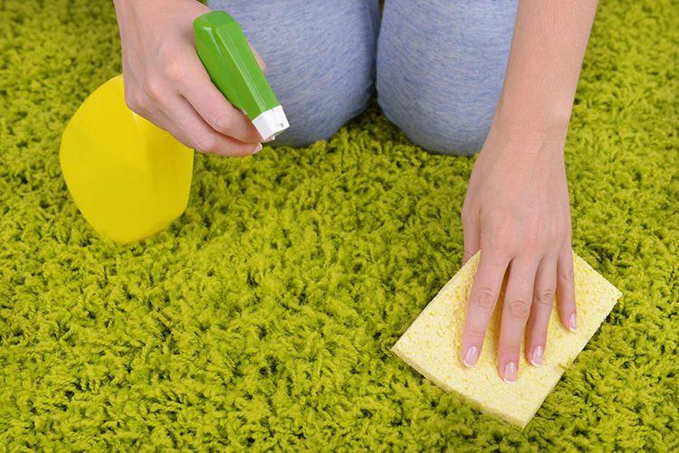 Длинный ворс в домашних условиях почистить сложно