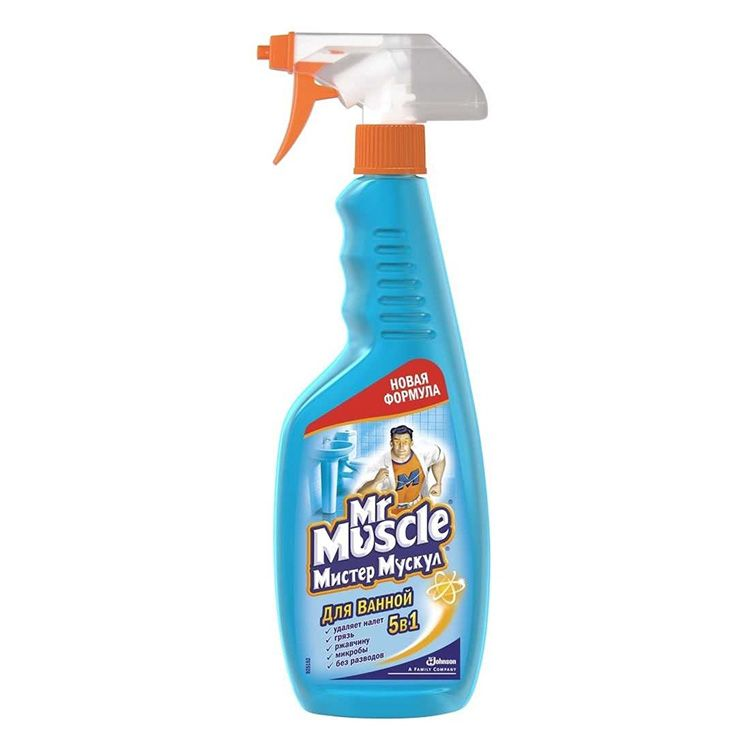 «Мистер Мускул» – блеск и чистота стёкол