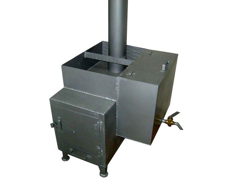 Печка с навесным баком