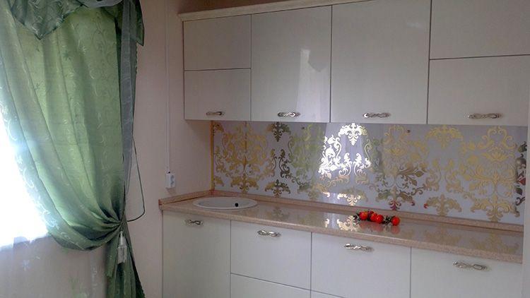 Интересный рисунок на стеновых панелях способен стать «изюминкой» интерьера