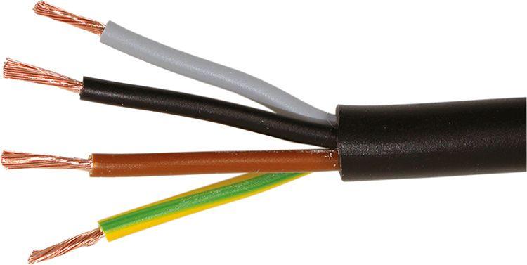 Окраска изоляции проводов для трёхфазной сети