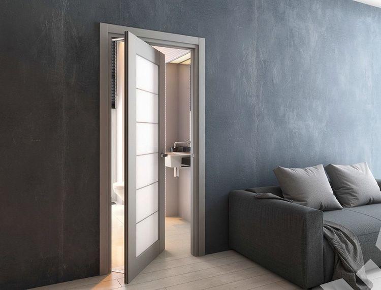 Межкомнатная дверь ротационного типа