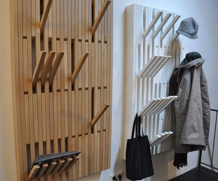 Многофункциональная дизайнерская вешалка для одежды в прихожую