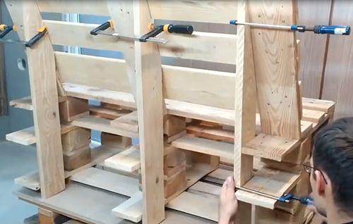 Как сделать мебель из поддонов: фото, советы и пошаговые инструкции