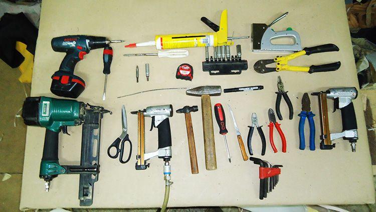 Инструменты, необходимые для установки варочной поверхности