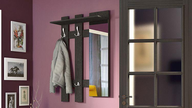 Вешалка для одежды на стену