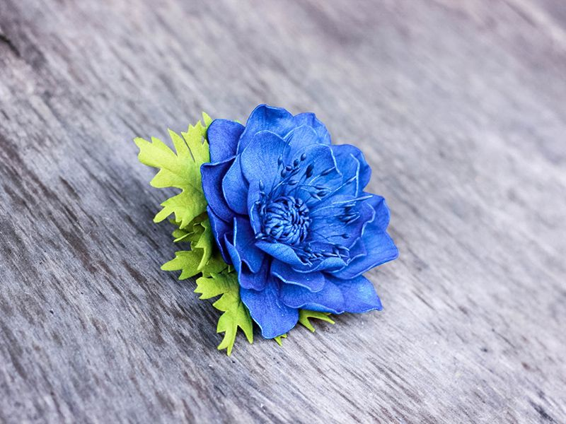 100-23 Мастер класс цветы из фоамирана