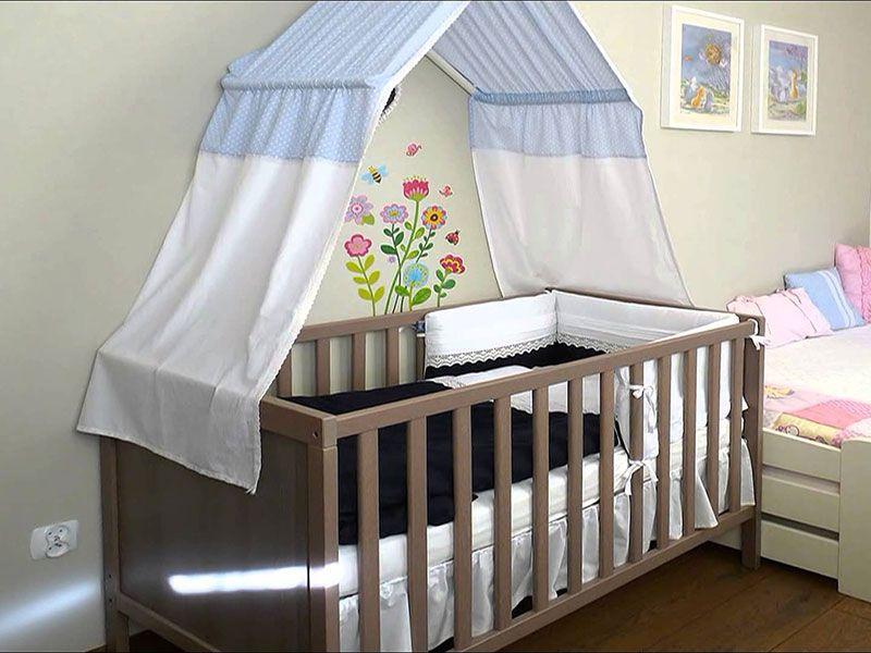100 Шьем балдахин на детскую кроватку своими руками пошагово