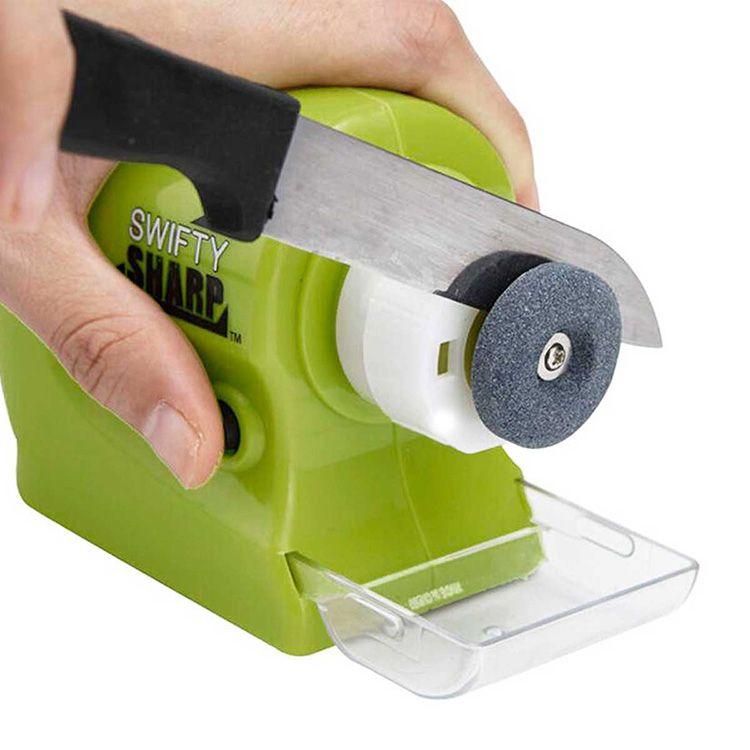 Как и более профессиональные бытовые системы, заточки ножей могут использовать подвижный или неподвижный абразив. Угол заточки в этом случае зависит от положения режущего инструмента
