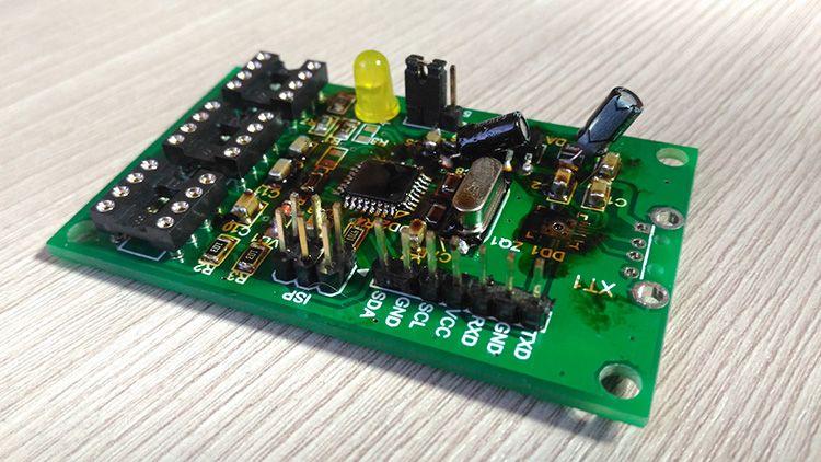 Внешний вид программатора для будущей паяльной станции на ATmega328
