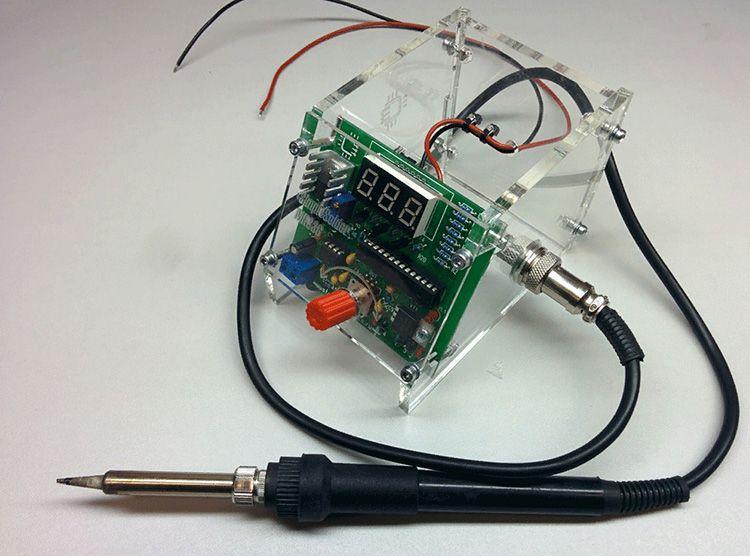 Контроллер и паяльник – важнейшие элементы паяльной станции должны быть чистыми и защищёнными от пыли