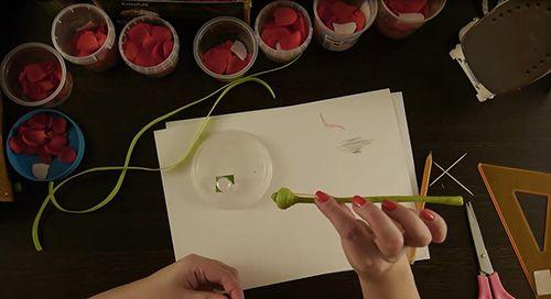 18-10 Мастер класс цветы из фоамирана
