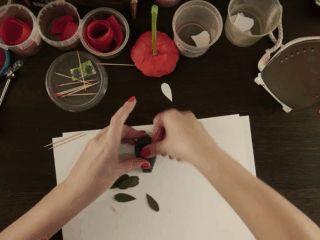 22-gap Мастер класс цветы из фоамирана