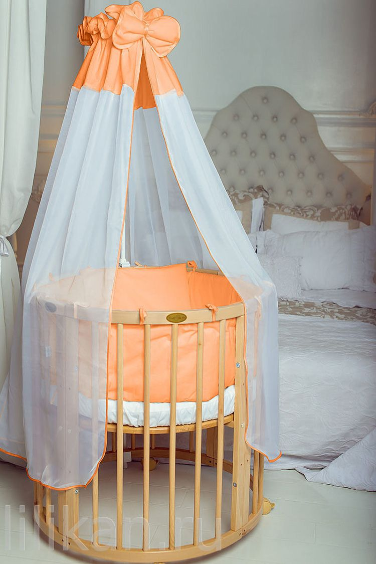23 Шьем балдахин на детскую кроватку своими руками пошагово