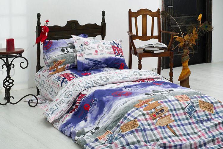 Минимальный размер постельного белья для взрослого человека – «полуторка»