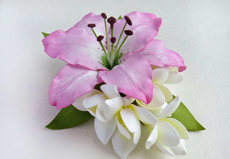 В итоге у нас должен получиться вот такой красивейший цветок