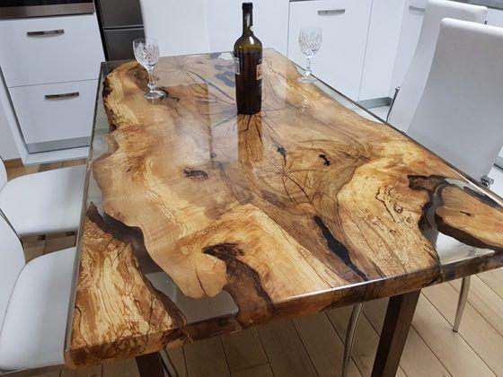 Создаём бижутерию, мебель, пол с помощью прозрачной эпоксидной смолы для заливки