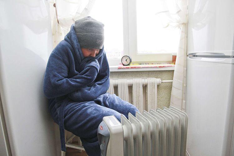 Низкую температуру надо зафиксировать
