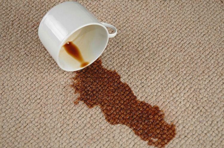 Кофе убираем моющими составами