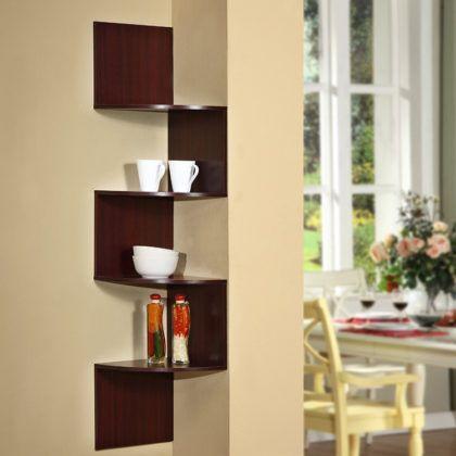 Изящные, вместительные, дизайнерские полочки для кухни на стену: фотогалерея и пошаговая инструкция по самостоятельной сборке